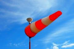 Windschaufel Die Richtung des Winds Wettervorhersage Stockfotografie