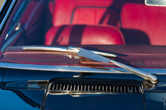 Windscreen and wiper blade Royalty Free Stock Photos