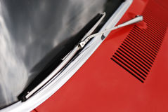 Windshield wiper Royalty Free Stock Photos
