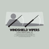 Windshield Wipers Car's Parts Royalty Free Stock Photo