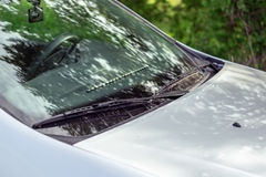 Windshield wipers Royalty Free Stock Photo