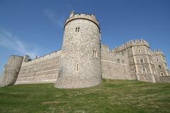 WindsoCastle. Windsor Castle turret on a summer's day Royalty Free Stock Images