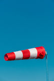 Windsock against a blue sky Stock Image