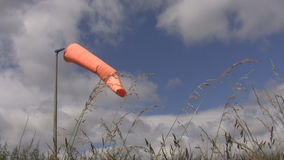 Windsock in an airfield Stock Images
