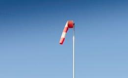 Windsock die geen wind toont Stock Foto