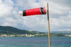 Windsock que funde no vento Imagem de Stock Royalty Free