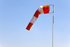 Windsock, Wind-Hülse Lizenzfreies Stockbild