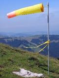 windsockyellow arkivfoton