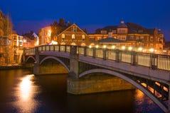 windsor του Τάμεση γεφυρών Στοκ εικόνα με δικαίωμα ελεύθερης χρήσης