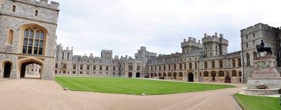 windsor Великобритании панорамы замока квартир королевское Стоковые Фото