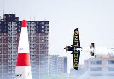 windsor красного цвета гонки Канады быка воздуха 2009 стоковые фотографии rf