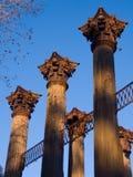 windsor руин колонок стоковая фотография rf