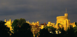 Windsor. Castle berkshire in england Stock Photography