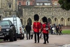 Windsor, Berkshire, England / UK - October 15th, 2018: Windsor Castle stock photos