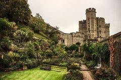 Windsor, Berkshire, England / UK - October 15th, 2018: Windsor Castle royalty free stock photography