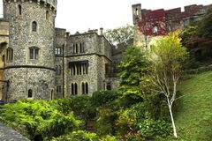 Windsor, Berkshire, England / UK - October 15th, 2018: Windsor Castle stock photography