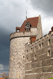 WINDSOR, BERKSHIRE/UK - APRIL 27 : Partial view of Windsor Castl Royalty Free Stock Photography