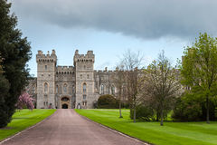 WINDSOR, BERKSHIRE/UK - APRIL 27 : Scenic view of Windsor Castle Royalty Free Stock Photo