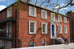 WINDSOR, BERKSHIRE/UK - 27 DE ABRIL: A casa de Sir Christopher Wren Fotos de Stock Royalty Free