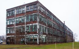 Walker Power Building Before Demolition and Remodling Royalty Free Stock Images