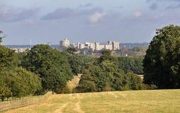 Windsor Castle στα βερκέλια στοκ εικόνες