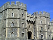Windsor Castle. Henry VIII Gateway on Castle Hill, Windsor Castle originally built by William The Conqueror soon after his invasion of England in 1066 and is the Royalty Free Stock Images