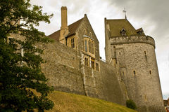 Windsor Castle. Picture of the Windsor castle taken on 17 July 2010 Royalty Free Stock Images