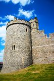 Windsor Castle. Turret on a summer's day stock photography