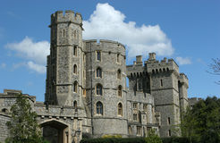 Windsor Castle 2. Windsor Castle one of the Queen of Englands official residencies stock image