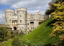 Windsor Castle. A view of Windsor Castle, United Kingdom Royalty Free Stock Photo