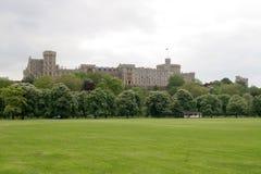 Windsor castle. In green park Stock Images