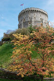 Windsor Castle during autumn. One of the buildings at Windsor Castle during autumn Stock Images