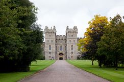 Windsor Castle in the Berkshire in Southern England Royalty Free Stock Image