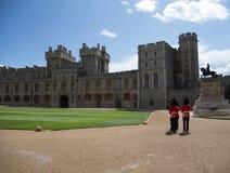 Windsor Castle Changing delle guardie Fotografie Stock Libere da Diritti
