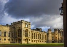 Windsor Castle Court Stockfotografie