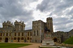 Windsor Castle en Inglaterra Reino Unido Foto de archivo libre de regalías