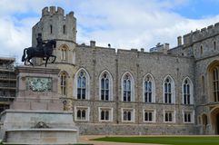 Windsor Castle in Engeland het UK Stock Afbeelding