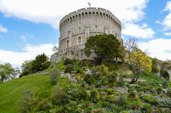 Windsor Castle in Engeland het UK Stock Foto's