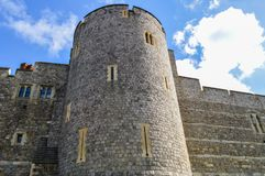 Windsor Castle in Engeland het UK Royalty-vrije Stock Foto