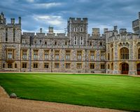 Windsor Castle, Engeland, het UK stock fotografie