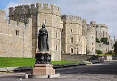 Windsor Castle in England Royalty Free Stock Photos