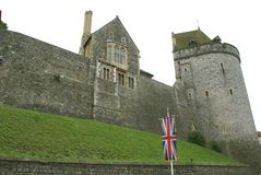 Windsor Castle in England Lizenzfreie Stockfotografie