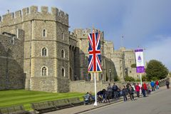 Windsor Castle , England Stock Photography