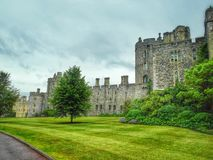 Windsor castle in England (HDR). A view of Windsor castle in England Stock Photos