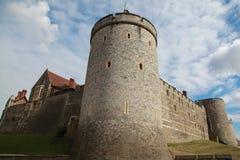Windsor Castle, England, United Kingdom. The residence of HRH Queen Elizabeth II Stock Image