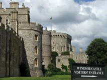 Windsor Castle entrance Stock Photography