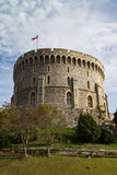 Windsor castle. Exterior photo with blue skies Stock Image