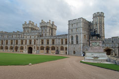 Windsor Castle. And Garden near London, Great Britain - United Kingdom Royalty Free Stock Photo