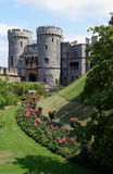 Windsor castle gateway. And garden, England Royalty Free Stock Photos