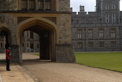 Windsor Castle - guard Stock Photography